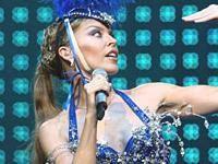 Kylie Minogue est la limite des songeries des voyageurs des avions